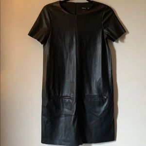 Dresses & Skirts - Faux leather short dress